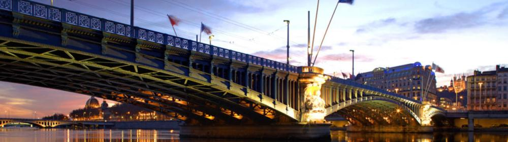 Le pont La Fayette sur le Rhône