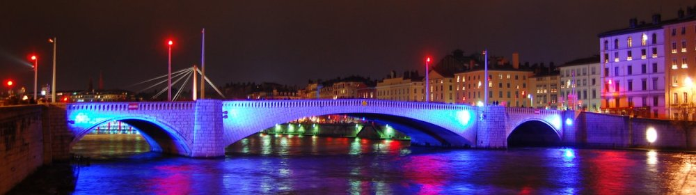 Pont Bonaparte sur la Saône